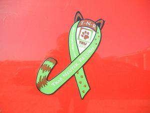 TNR Awareness Ribbon Magnet